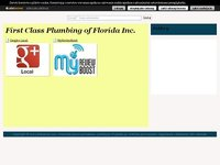First Class Plumbing of Florida Inc.