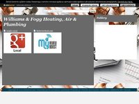 Williams & Fogg Heating, Air & Plumbing